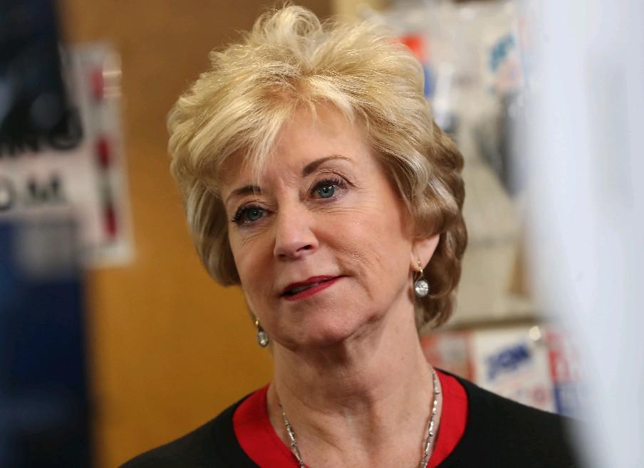 SBA administrator Linda McMahon  (Sharon Cantillon/Buffalo News)