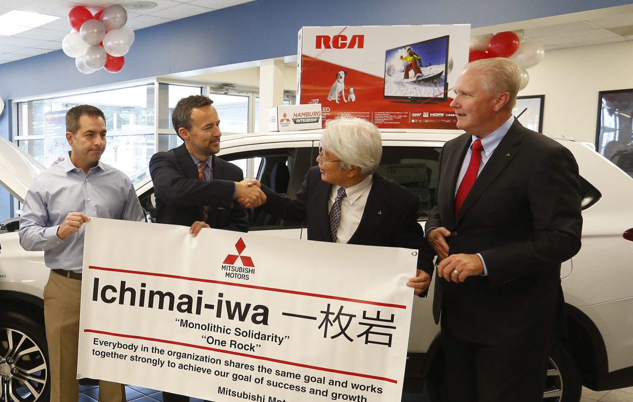 Hamburg Mitsubishi hosted a grand opening in October 2015. (Mark Mulville/Buffalo News)