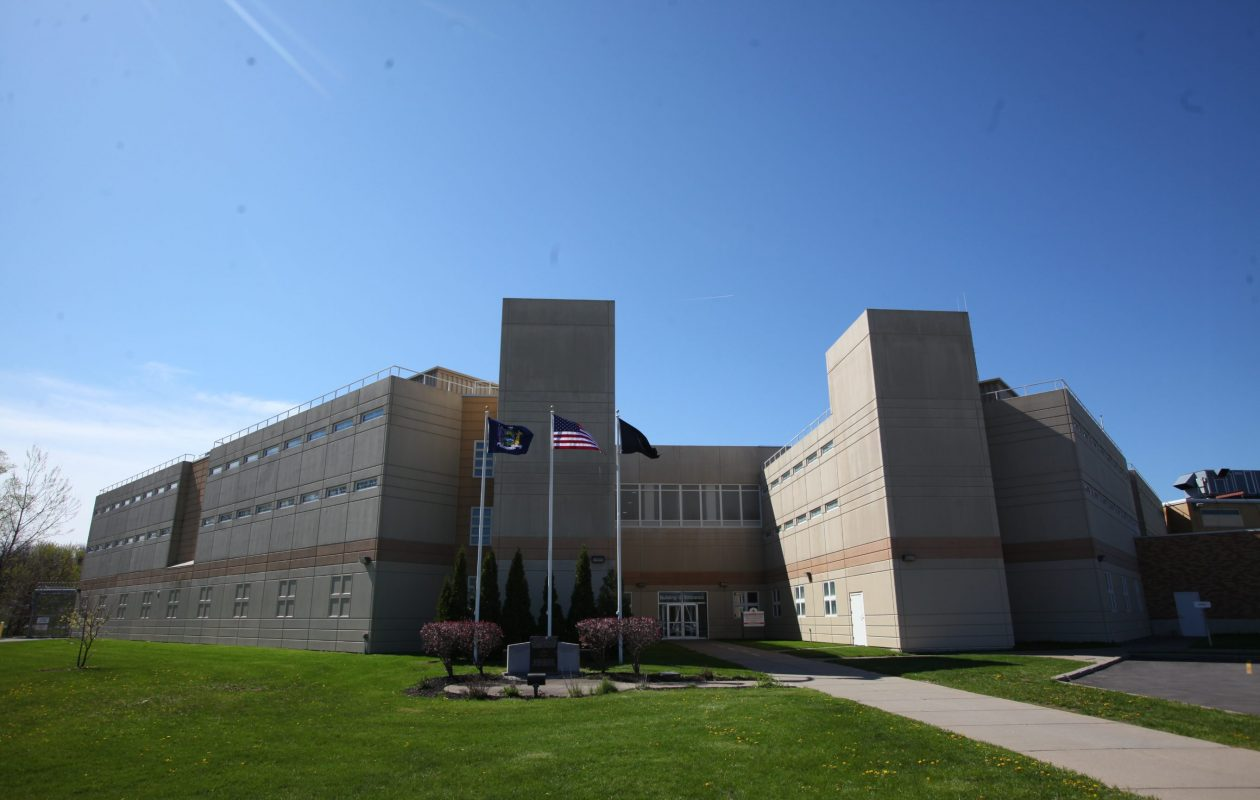 The Niagara County Jail. (Harry Scull Jr./News file photo)