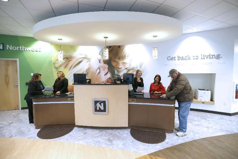 A Northwest Bank branch in Orchard Park. (Robert Kirkham/Buffalo News)