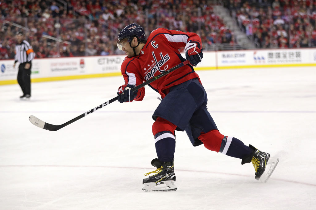 The numbers keep piling up for Alex Ovechkin (Getty Images).