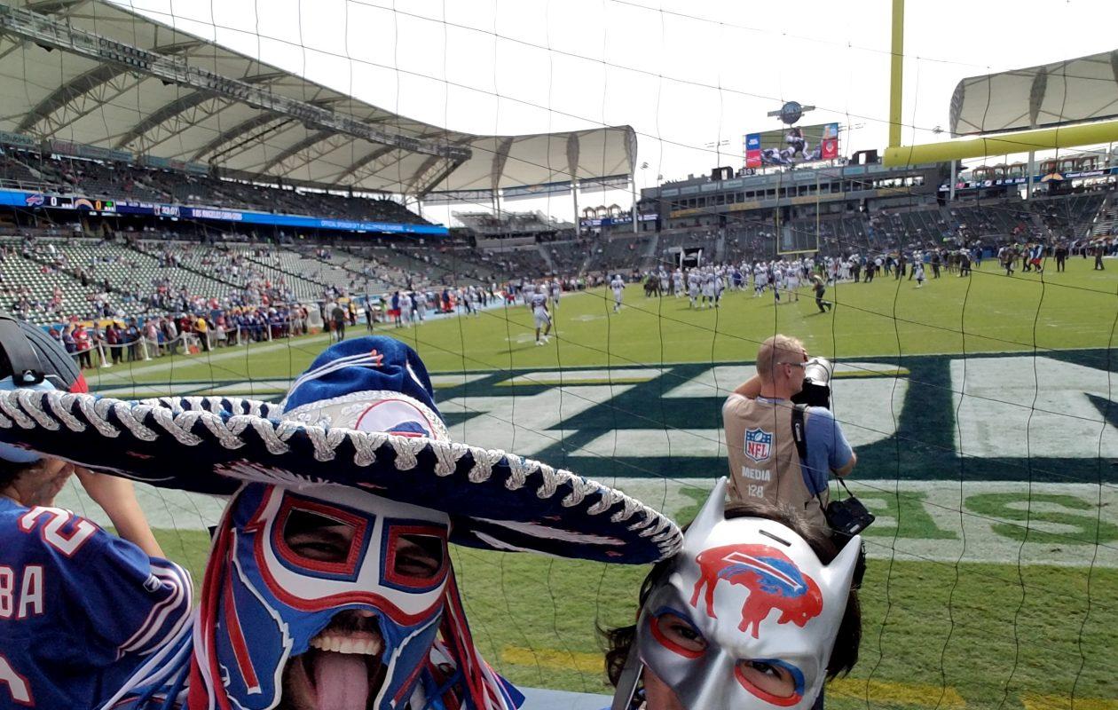 In full regalia, 'Pancho Billa' and 'Panchito.' (Photo courtesy Ezra Castro)