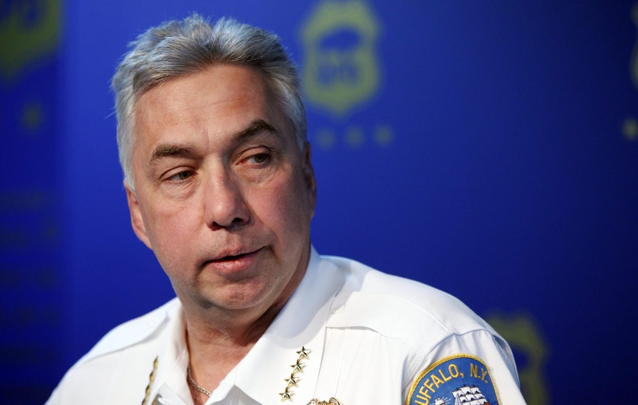 Former Buffalo Police Commissioner Daniel Derenda has landed a job with G4S Security Solutions, (News file photo)