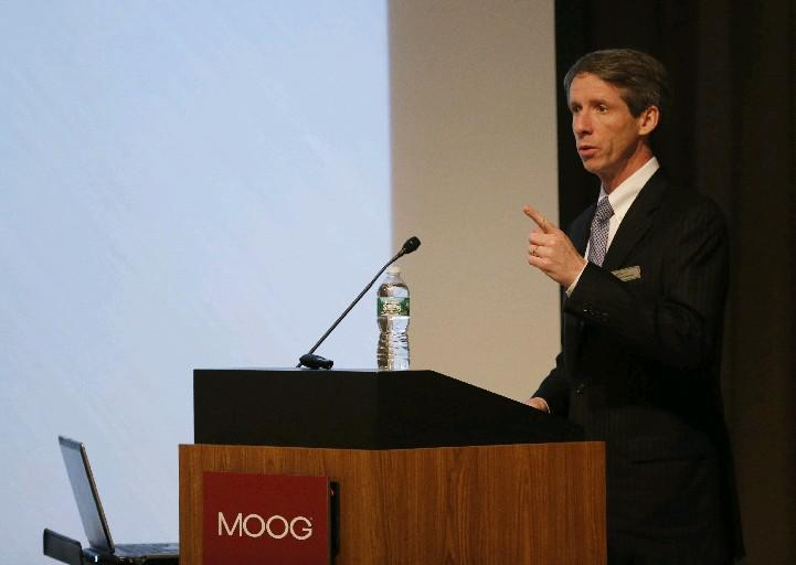 Moog chairman and CEO John Scannell (News file photo)