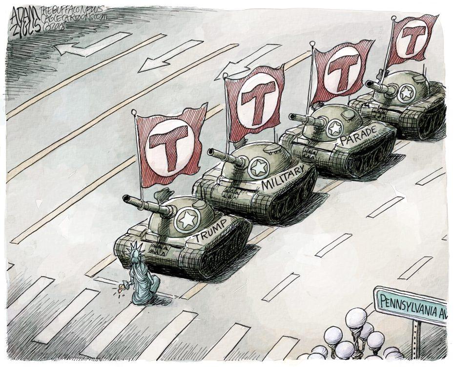 Military Parade: February 8, 2018