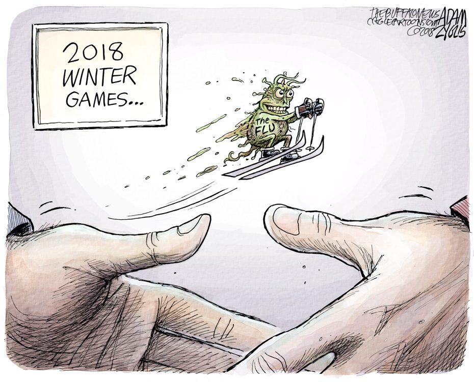 The Flu: February 11, 2018