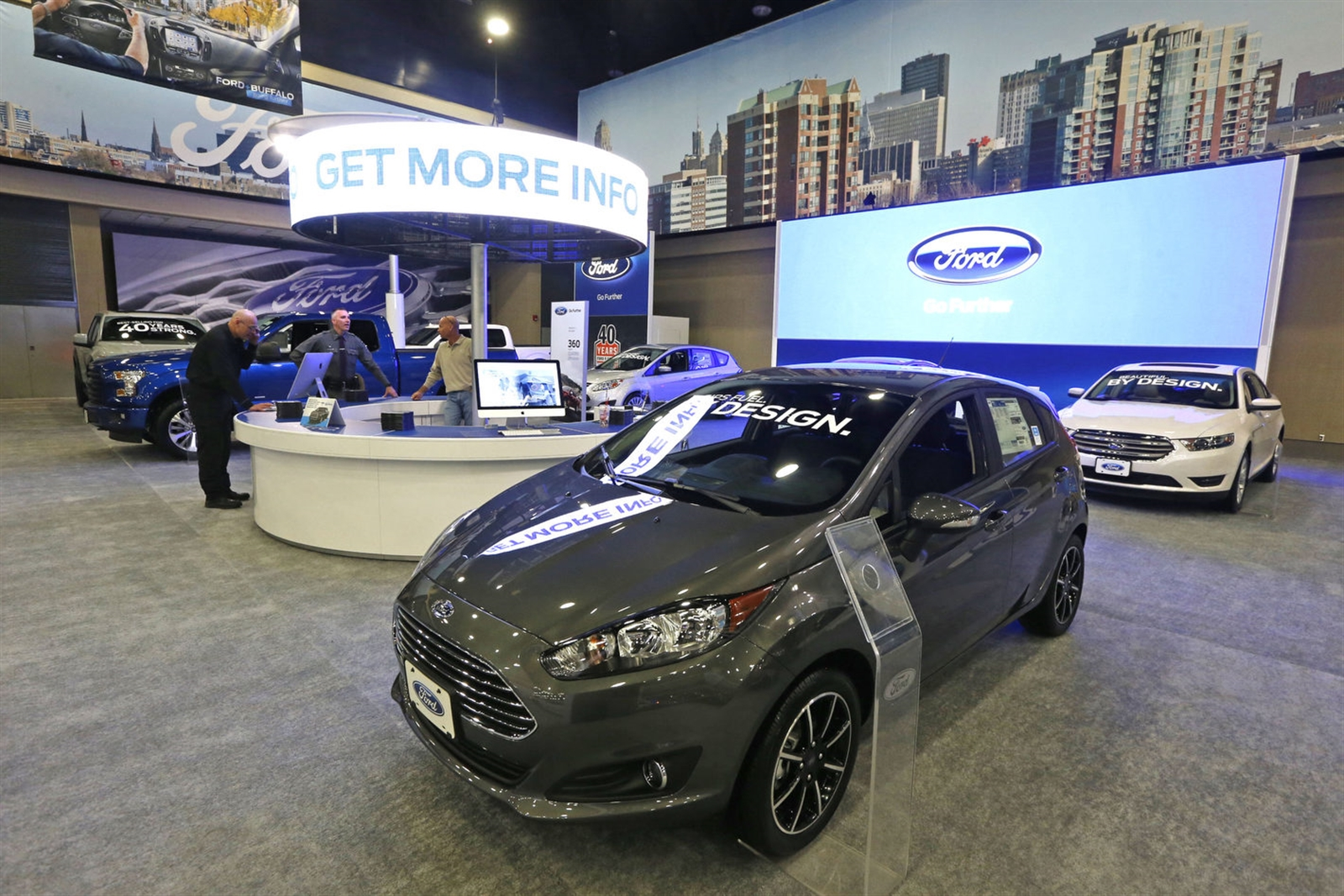 Five Trends In Play As Buffalo Auto Show Comes To Town The Buffalo - Ford show car
