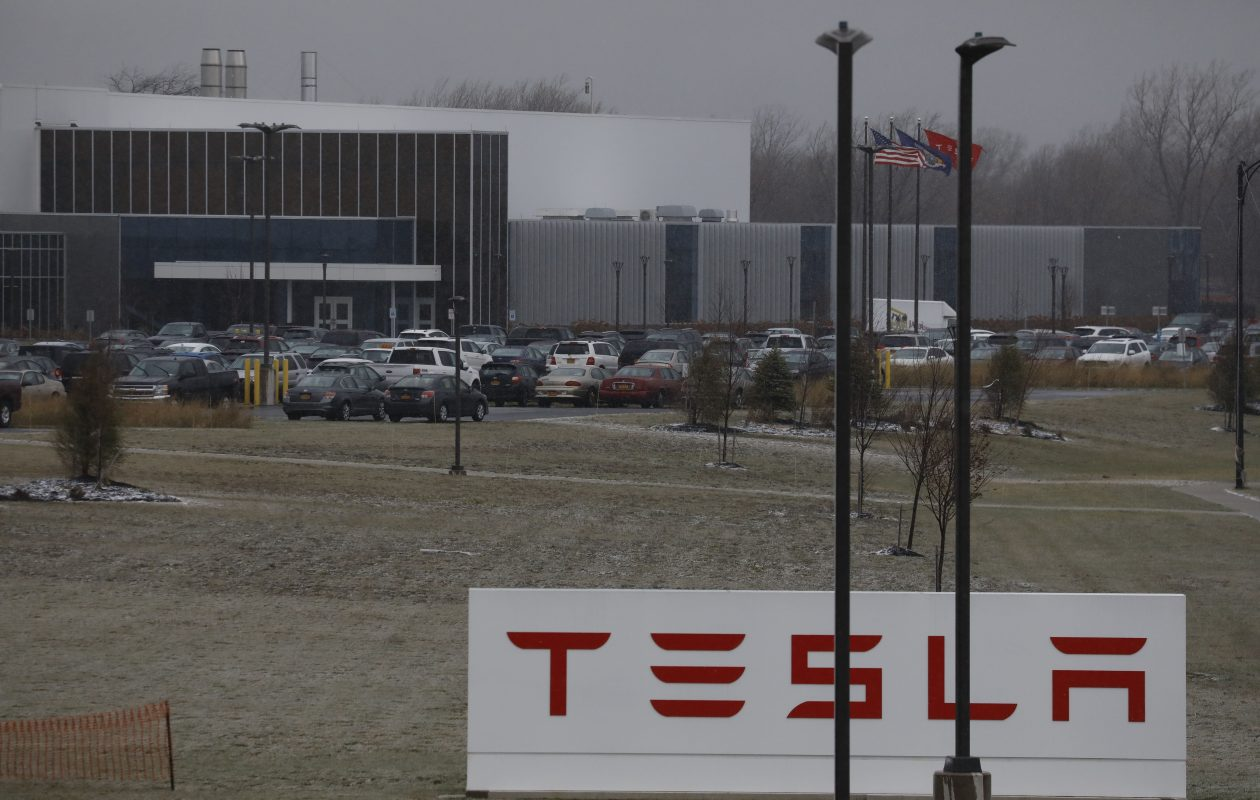 Tesla said it is cutting 9 percent of its workforce. (Derek Gee/News file photo)