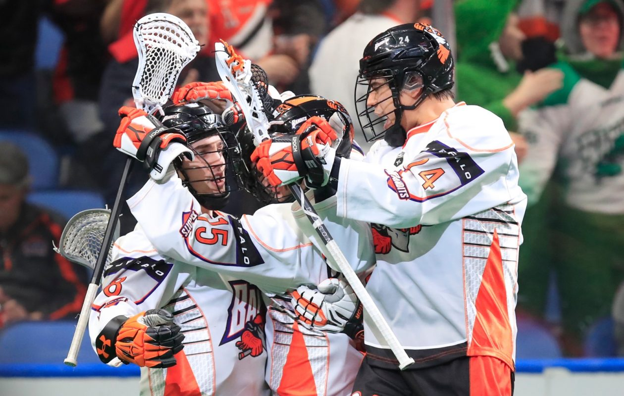 The Buffalo Bandits are  4-3 going into back-to-back games. (Harry Scull Jr./Buffalo News)