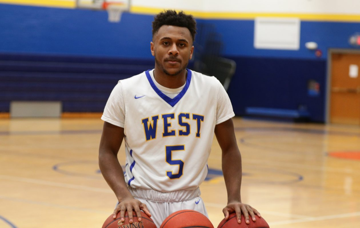 West Seneca West boys basketball's Juston Johnson is the Prep Talk Male Athlete of the Week. (James P. McCoy / Buffalo News)