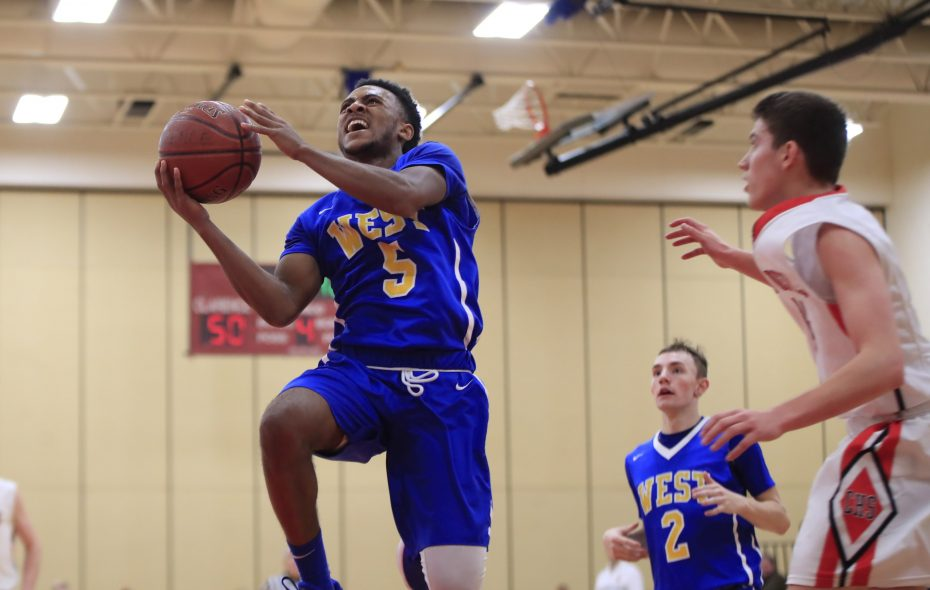 West Seneca West, led by guard Juston Johnson, brings a 20-0 record into the postseason. West earned the No. 1 seed in Class A-1 for the Section VI Tournament and receives a bye into Friday's quarterfinals. (Harry Scull Jr./ Buffalo News)