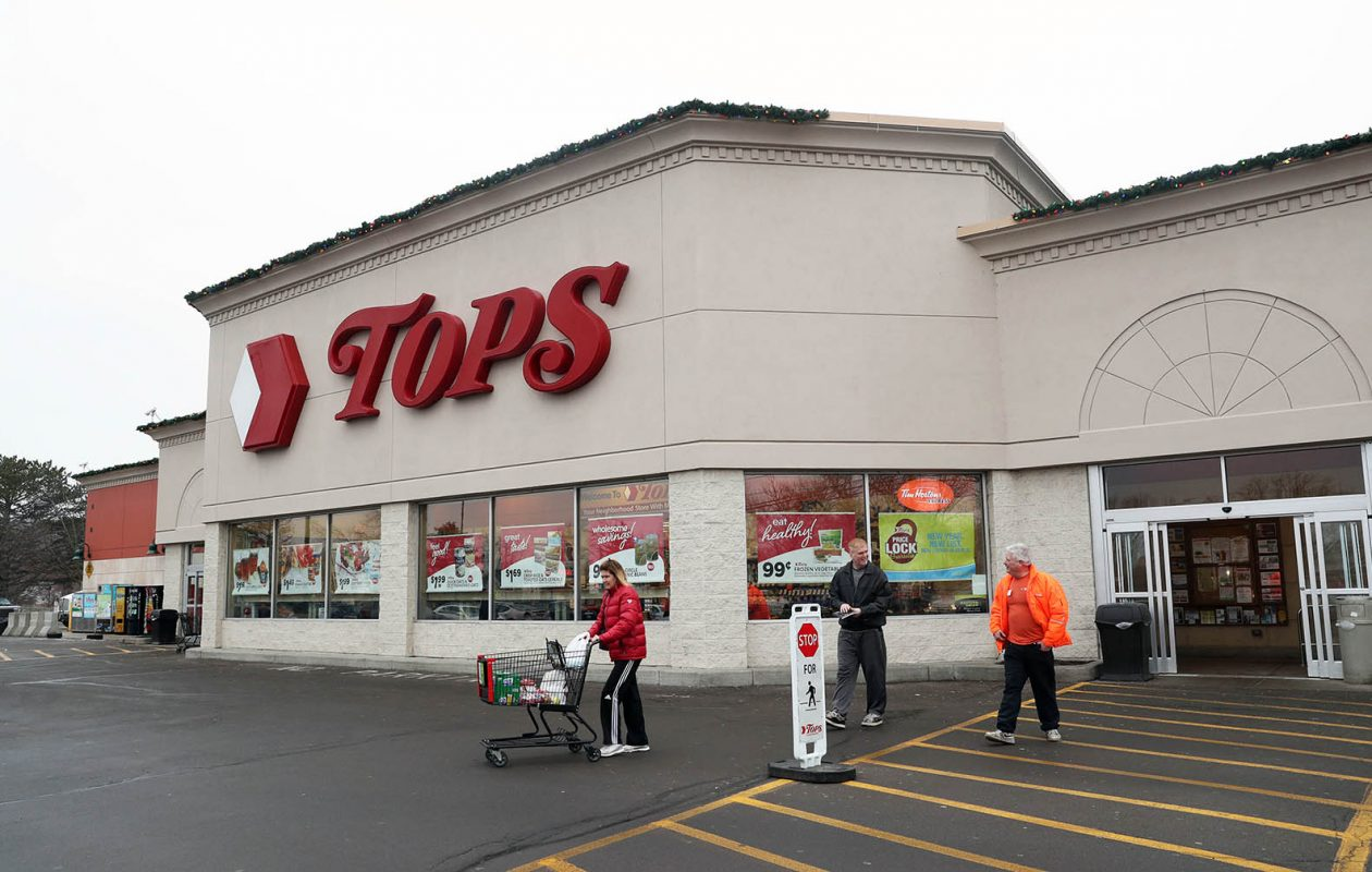 Tops, which is currently in bankruptcy, made a list of the top 50 grocers in terms of sales. (Sharon Cantillon/News file photo)