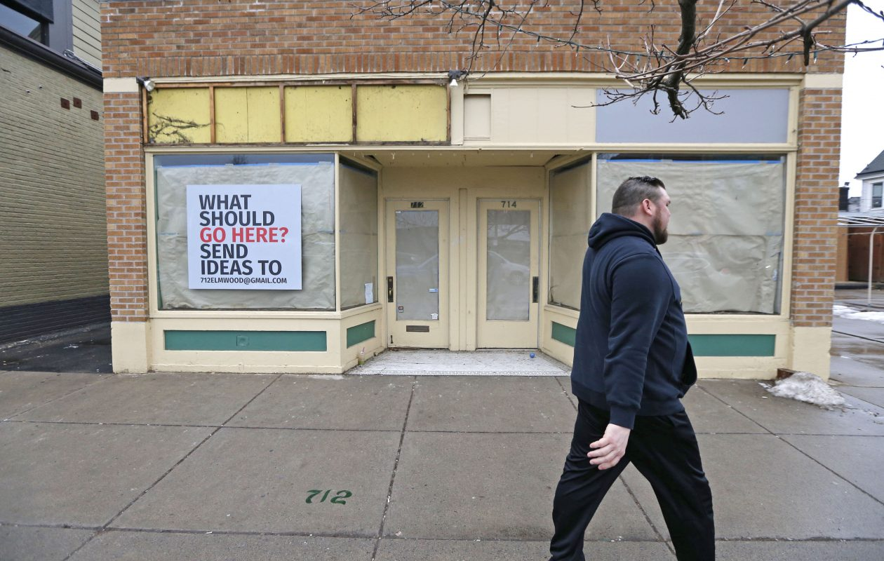 A former florist at 712  Elmwood Ave. is taking a unique approach to filling the space. (Robert Kirkham/Buffalo News)
