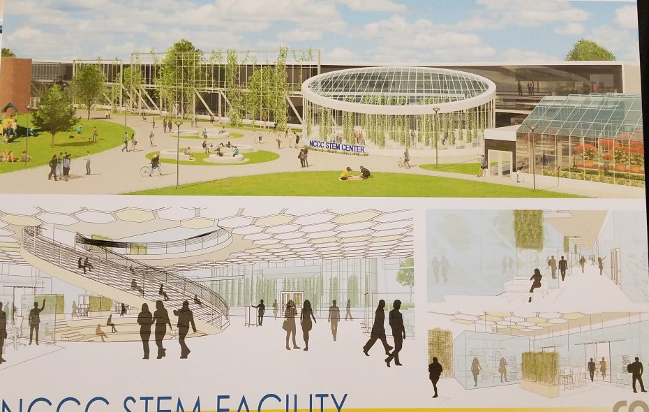 An architect's rendering shows the proposed Niagara County Community College STEM center. The plan continues an unfortunate policy of competition between NCCC and Erie Community College. (Thomas J. Prohaska/The Buffalo News)