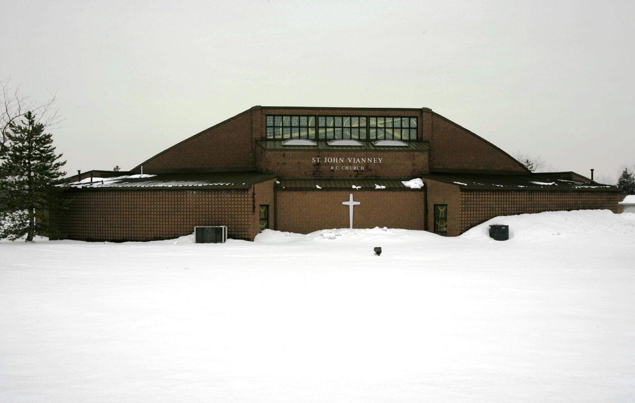 St. John Vianney Church in Orchard Park. (News file photo)