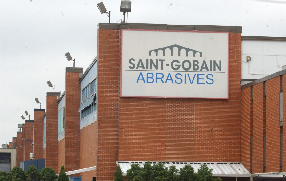 Site of Saint Gobain plant on Walmore Road. (Sharon Cantillon/Buffalo News file photo)