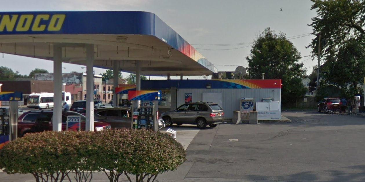 The owner of this gas station and convenience store wants to reopen the car wash. (Google Maps)