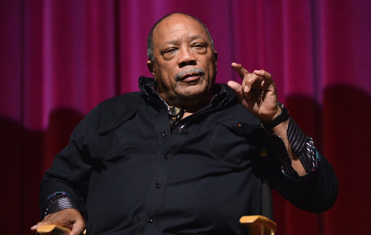An interview with music industry giant Quincy Jones that appeared in Vulture on Feb. 7 has gone viral. (Photo by Alberto E. Rodriguez/Getty Images For A&E Entertainment)