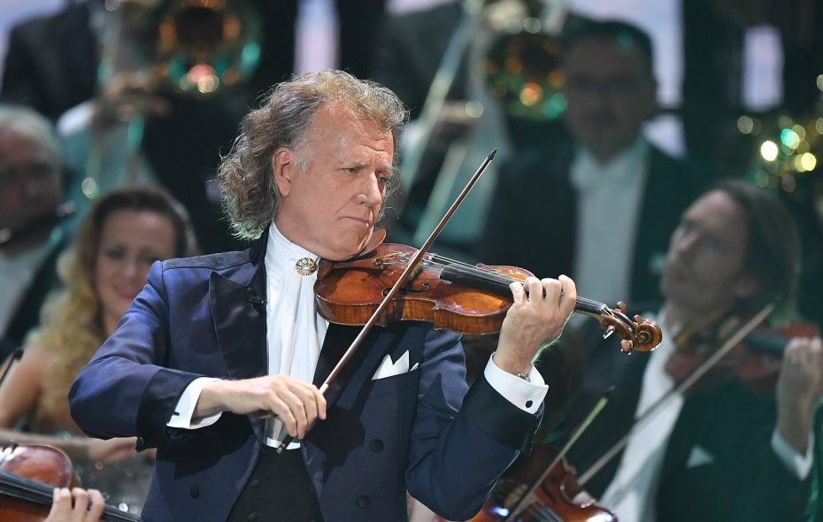 Andre Rieu and his Johann Strauss Orchestra performed classics and showtunes and pop classics at KeyBank Center. (Getty Images)