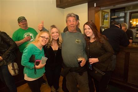 Smiles at Guinness Toast at Buffalo Irish Center