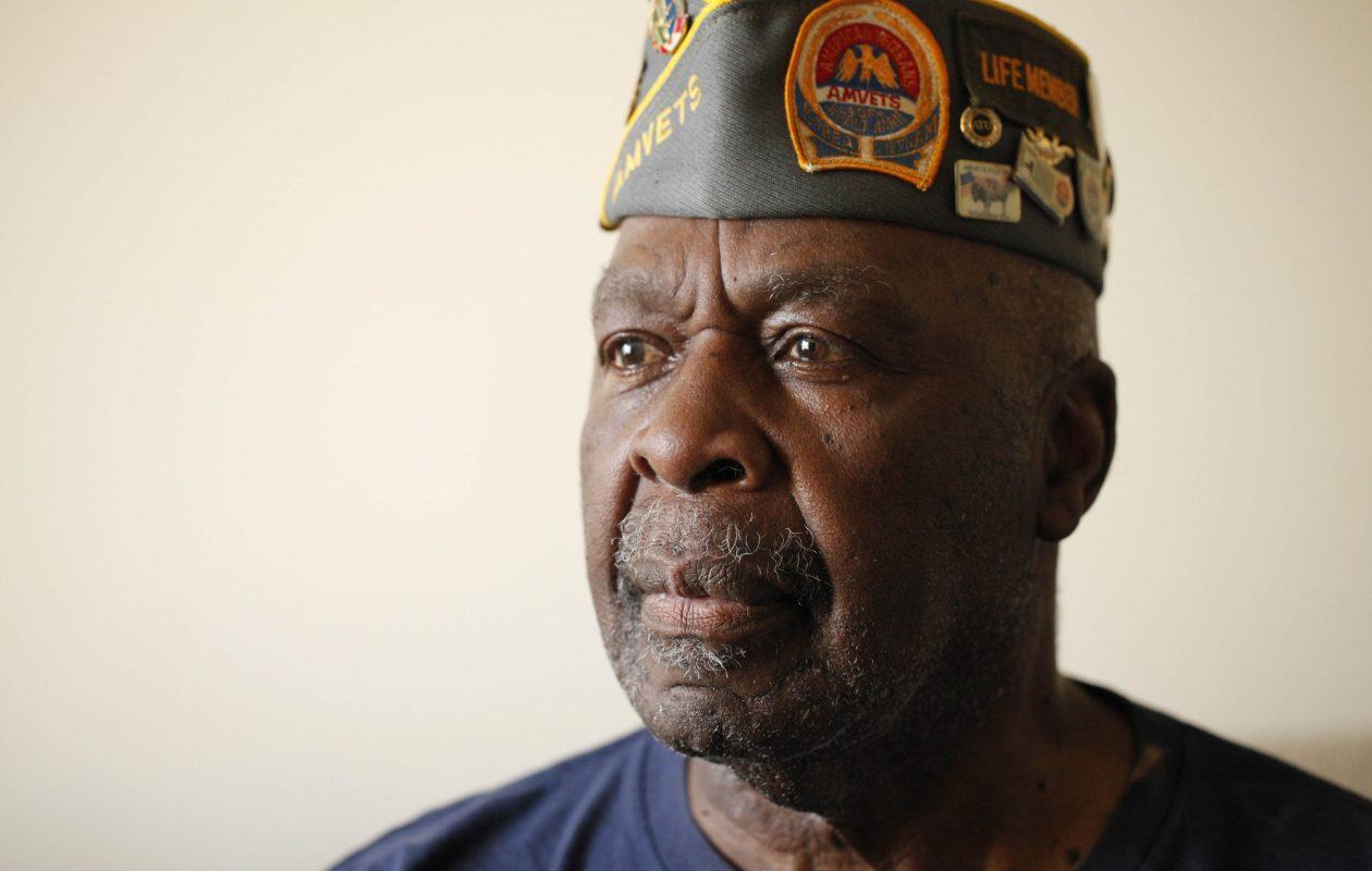 Korean War veteran Cleveland E. Fleming, July 27, 2011.  (Derek Gee / Buffalo News)