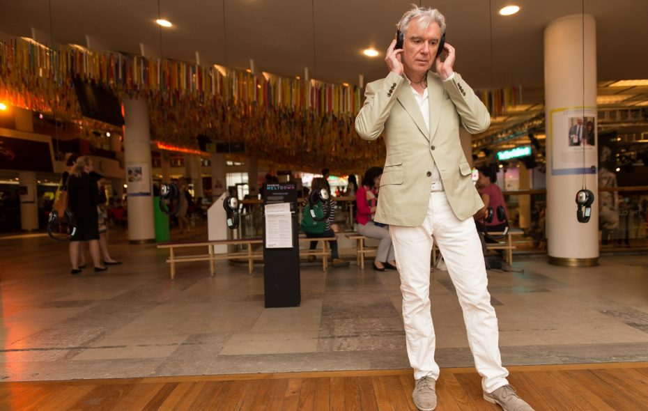 David Byrne brings a tour he's described as one of his most ambitious to UB's Center for the Arts on March 6. (Photo by Ian Gavan/Getty Images)