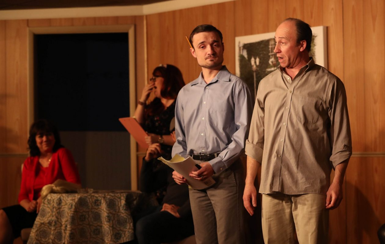 Desiderio's Dinner Theatre opened its production of 'Jitters,' a backstage comedy by David French and directed by Jay Desiderio. (Sharon Cantillon/Buffalo News)