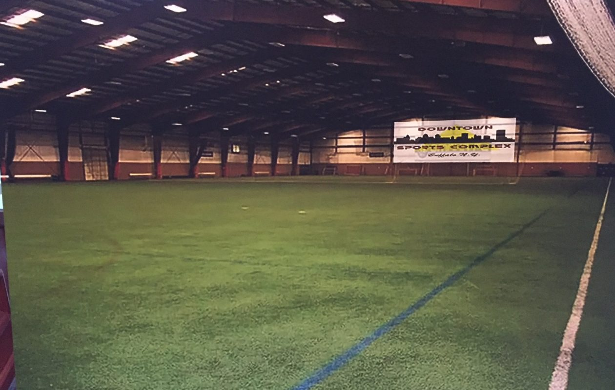An image that's representative of what the Downtown Sports Complex indoor facility might look like.