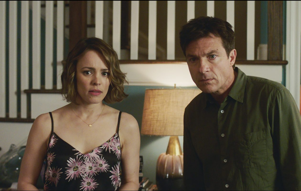Rachel McAdams and Jason Bateman star in 'Game Night.' (Photo courtesy Warner Bros. Pictures)
