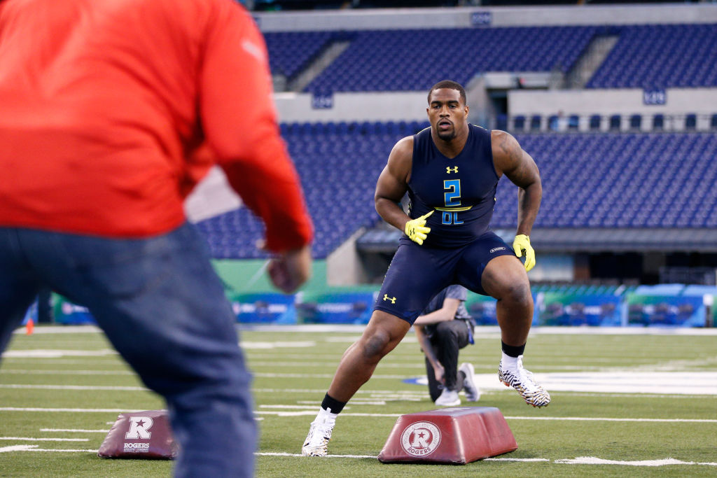 The 2018 combine runs Tuesday through March 5, with on-field workouts starting Friday. (Getty Images file photo)