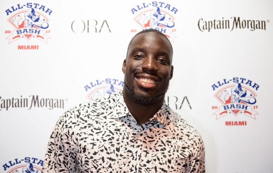 Vontae Davis, recent free agent signing of the Buffalo Bills, pictured during MLB All-Star Week on July 9, 2017, in Miami Beach, Fla. (Getty Images)