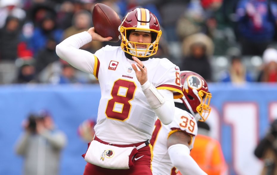 Kirk Cousins of the Washington Redskins will be a free agent in March. (Ed Mulholland/Getty Images)