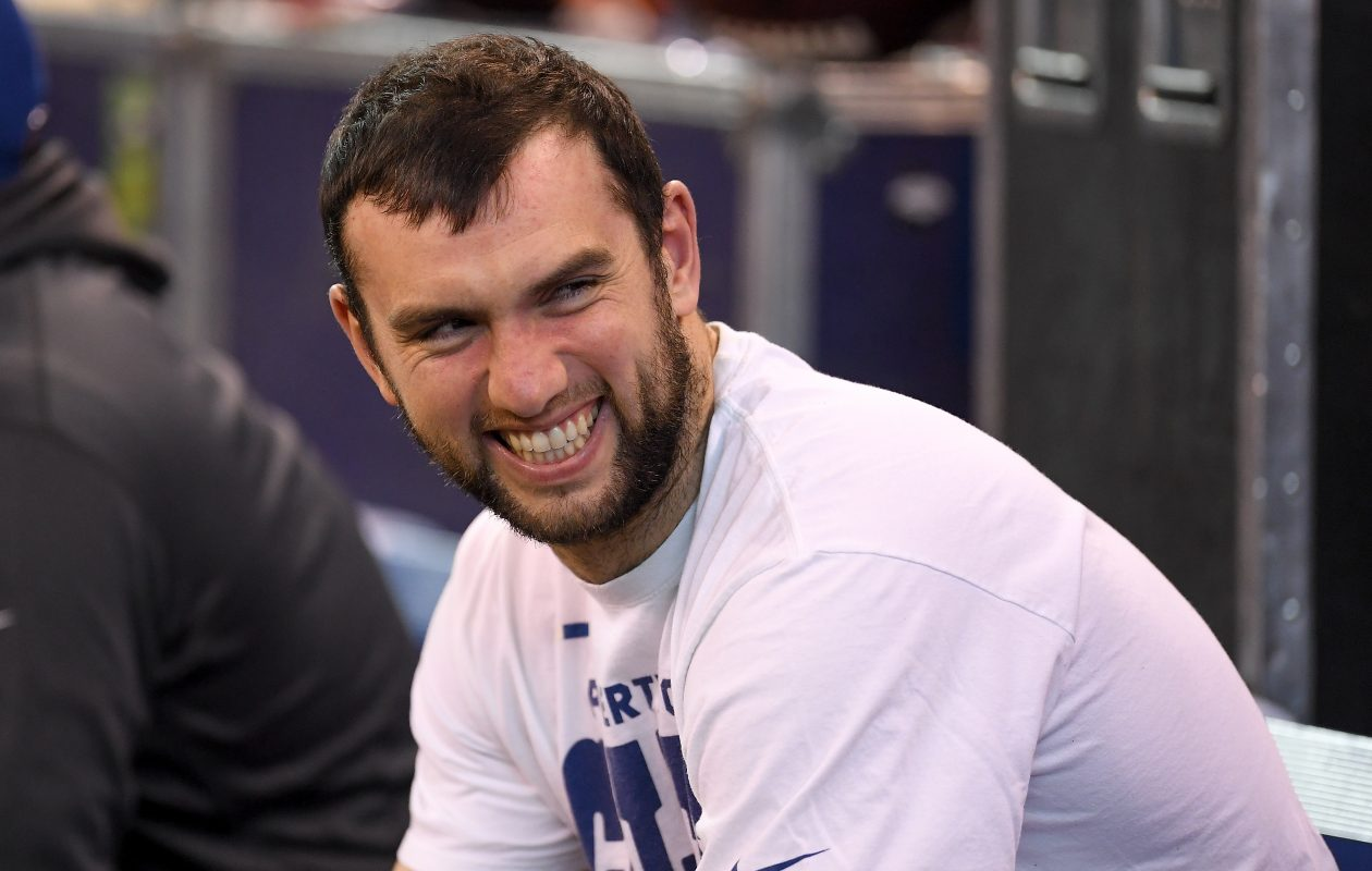 Andrew Luck  (Stacy Revere/Getty Images)