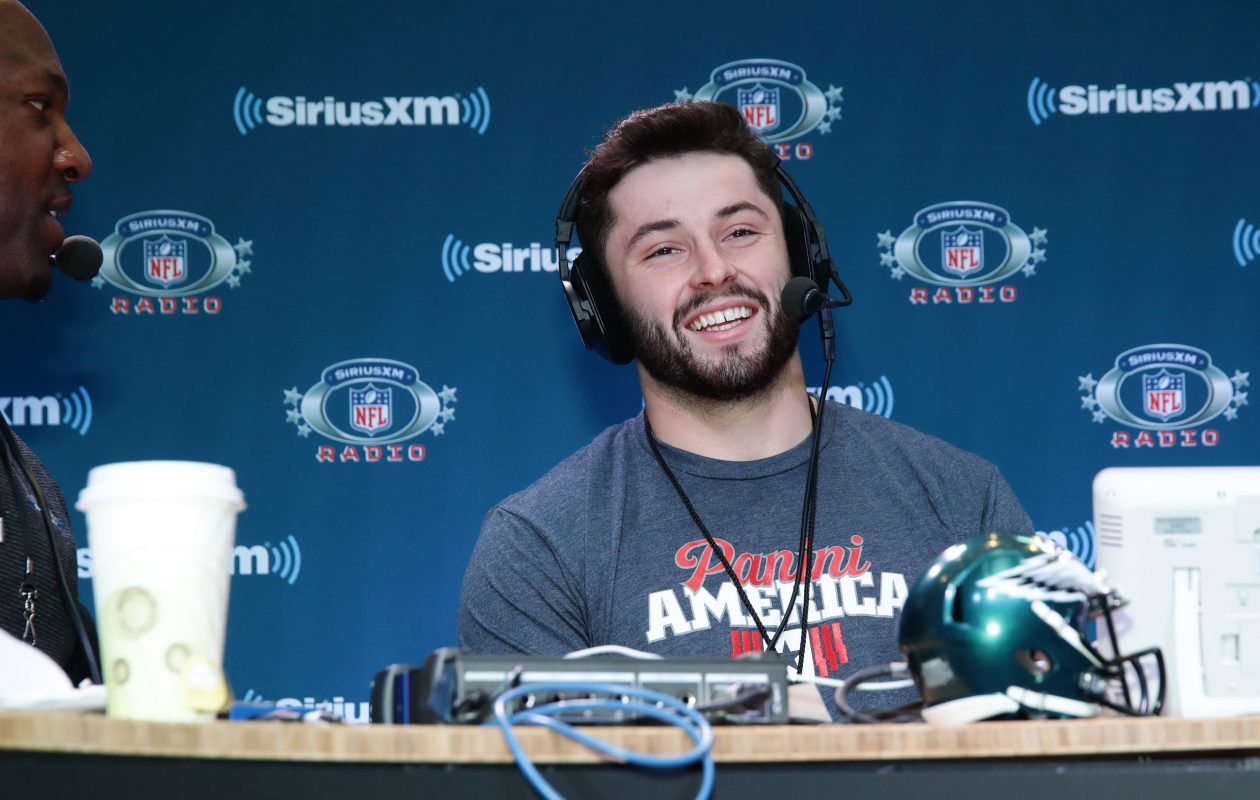 Baker Mayfield (Cindy Ord/Getty Images for SiriusXM)