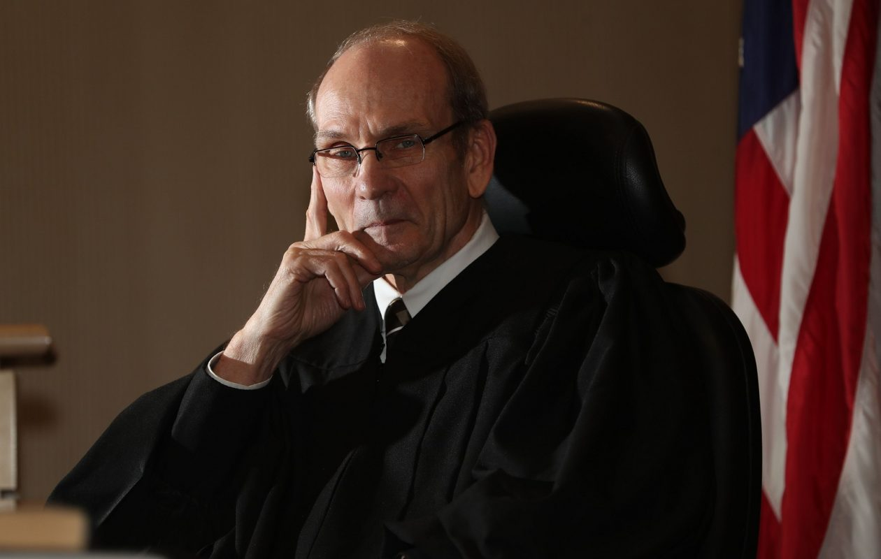 Dennis Gorski will step down as Cheektowaga Town Justice in December after four years on the job. He has worked 32 years in the public sector.(Sharon Cantillon/Buffalo News)