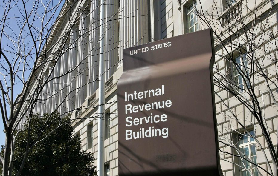 The Internal Revenue Service headquarters building in Washington, D.C., is pictured on March 15, 2005. The IRS filed a tax lien against Christopher Myles, formerly of East Amherst.  (Dennis Brack/Bloomberg News file photo)