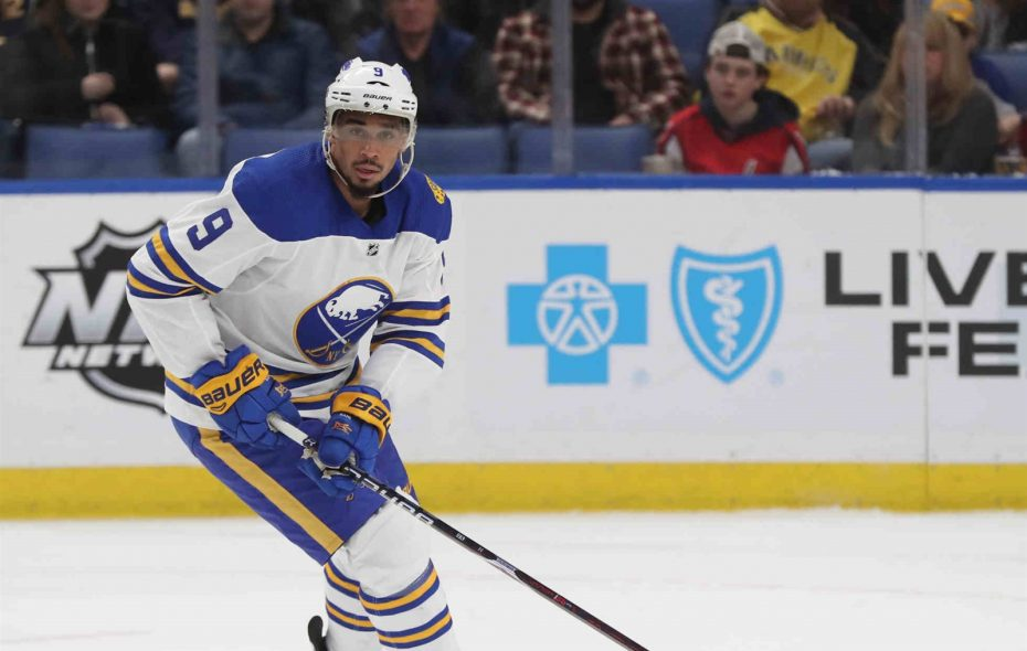 Evander Kane isn't sure where he'll be traded. He's just sure he will be. (James P. McCoy/Buffalo News)