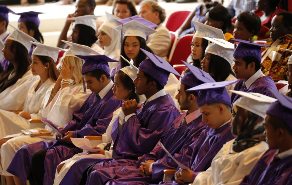 Graduation rates held steady in Buffalo for 2016-17, but the percentage of students earning Regents diplomas rose.  (Derek Gee/News file photo)