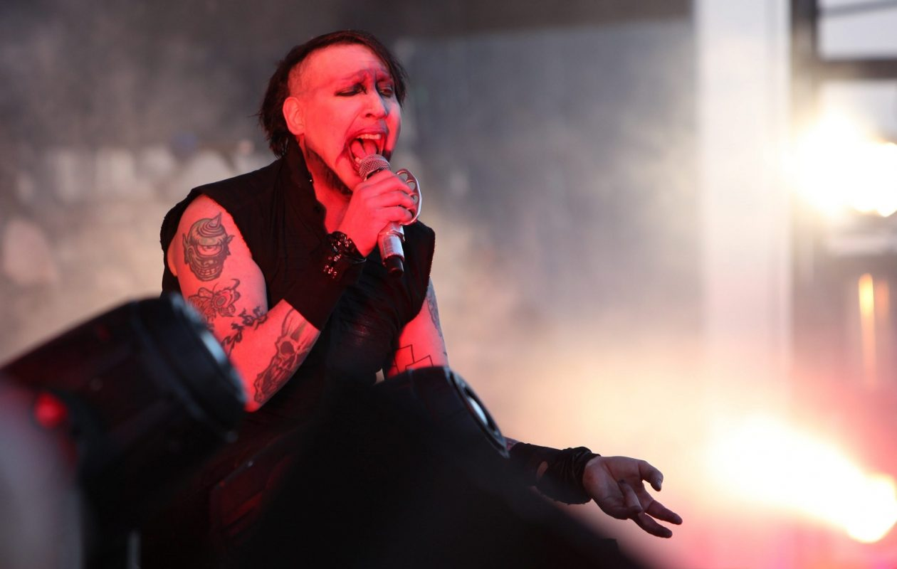 Marilyn Manson is returning to the Buffalo area. (Sharon Cantillon/Buffalo News file photo)