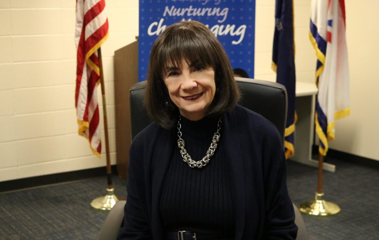 Mitzie Serafin, district clerk in the Williamsville Central School District for the past 24 years, is retiring March 2. (Photo courtesy of the Williamsville Central School District)