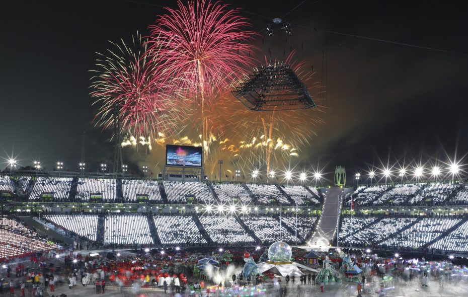 """Alan Pergament writes,  """"The big winner in these Olympics may have been the National Football League, whose declining ratings this past season have been put in better perspective by the drop in Olympics ratings.""""  (Chang W. Lee/New York Times)"""