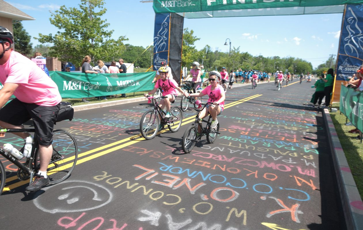 This year's Ride for Roswell will take place on June 23 and feature 11 different routes. (John Hickey/Buffalo News)