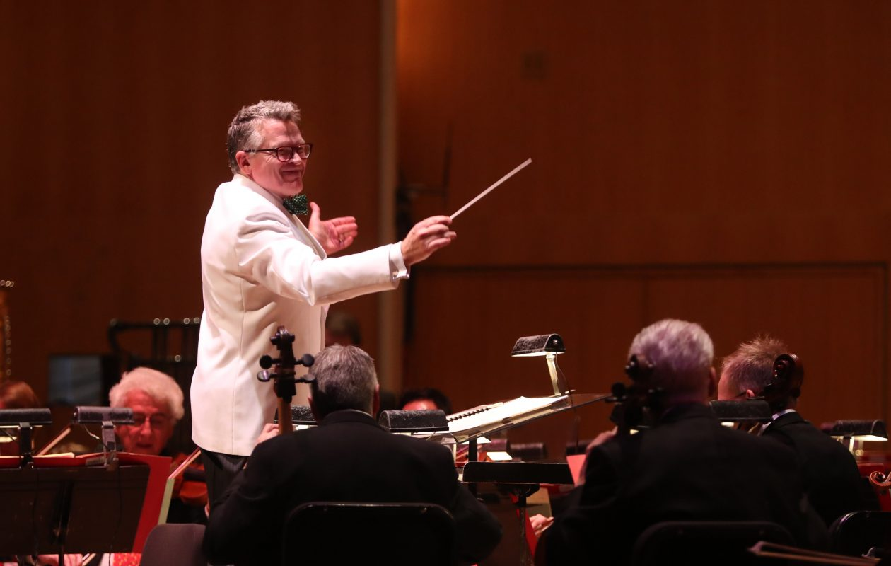 John Morris Russell, the BPO's principal pops conductor, is seeking a guest star for a vocal extravaganza.