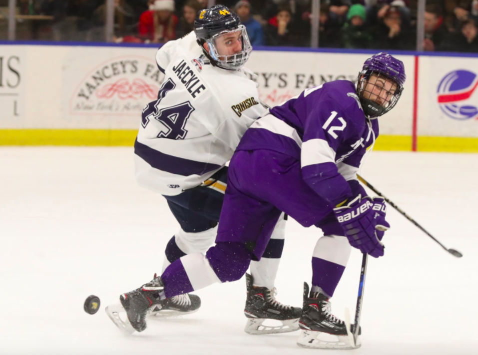 Canisius and Niagara hockey battle for seeding as the regular season wraps up (News file photo)