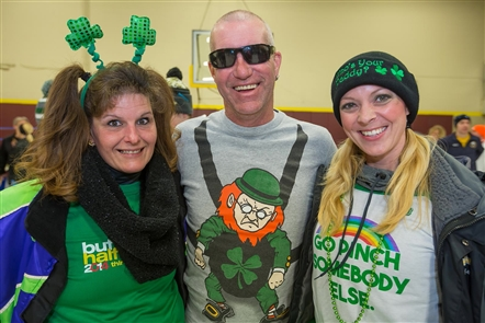 Smiles at the 2017 Shamrock Run