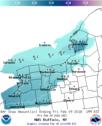 Freezing drizzle and snow likely through Sunday morning