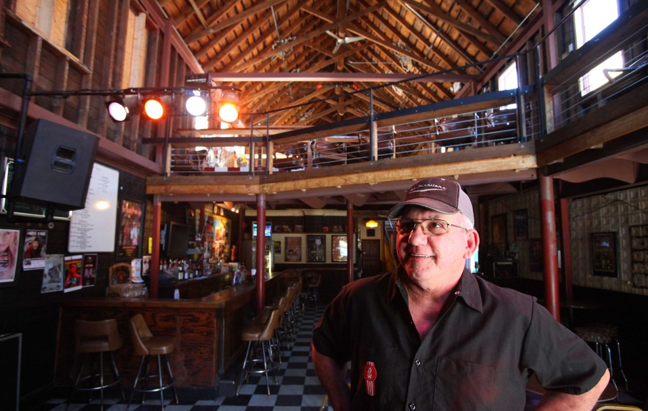 Sportsmen's Tavern proprietor Dwane Hall. The Black Rock music venue pulled in 'Best Venue' honors at this year's Ameripolitan Awards, held in Memphis, Tenn. (News file photo)