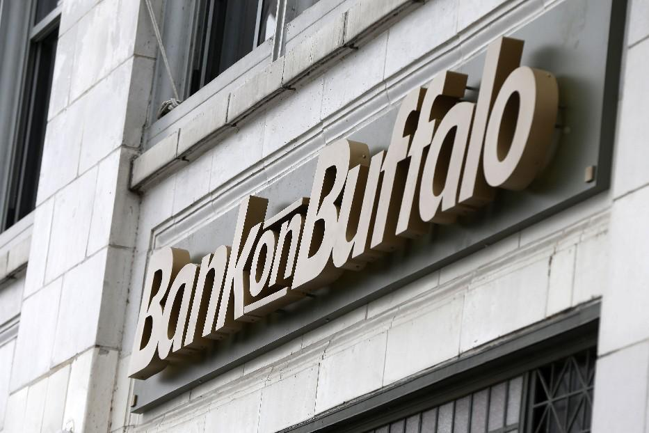 Bank on Buffalo's downtown headquarters. (News file photo)
