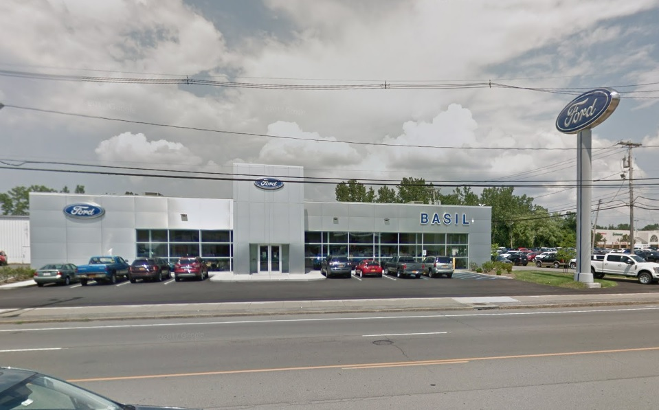 Basil Ford on Niagara Falls Boulevard in Niagara Falls.  (Google Streetview)