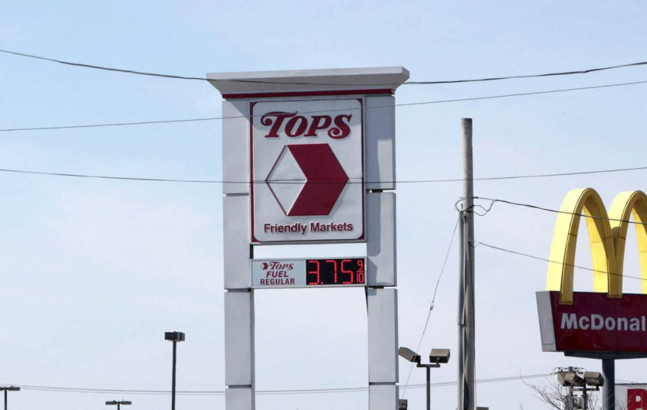 Tops Markets is struggling to rein in a hefty debt load and to cope with increasing competition from other supermarkets. (Derek Gee/News file photo)